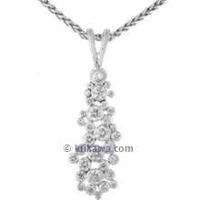 Diamond Bubbles Pendant