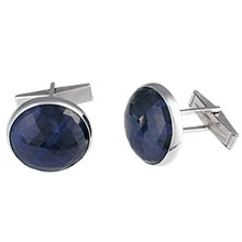 Unique Gemstone Cufflinks