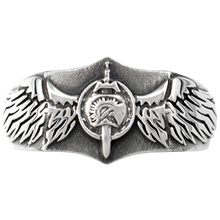 Eagle Signet Ring - top view