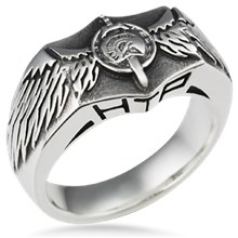 Wing Signet Ring