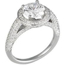 Regal Engagement Ring