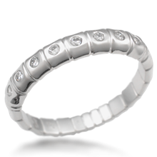 Dragonfly Wedding Band with Diamonds