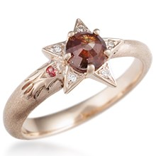 Shooting Star Light Engagement Ring