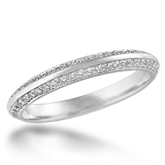 Diamond Accented Wedding Band