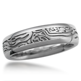 Woodgrain Wedding Band