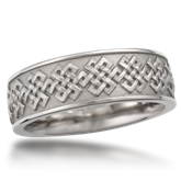 Eternity Symbol Wedding Band