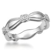 Floral Wedding Band
