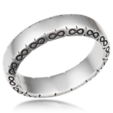 Infinity Symbol Wedding Band