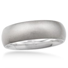 Stone Washed Wedding Band