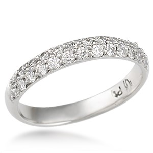 Milky Way Pave Wedding Band