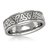 Men's Eternity Pattern Wedding Bands
