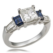 Five Stone Prong Engagement Ring