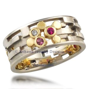Artistic Wedding Band