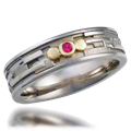 Artistic Wedding Bands