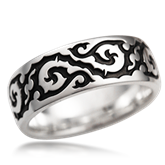 Infinity Wedding Band