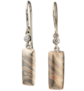 Mokume Earrings