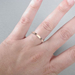 womans narrow wedding band