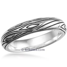 Tree Branch Wedding Band