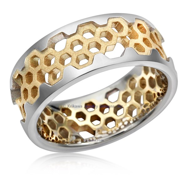 Hex Wedding Band