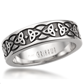 Knot Wedding Band