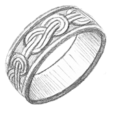 Design Your Own Knot Wedding Ring