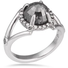 Raw Claw Engagement Ring
