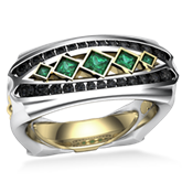 Dragon Lord Diamond Wedding Ring