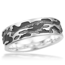 Camouflage Wedding Band