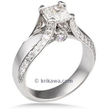 Modern Juicy Light Engagement Ring