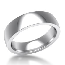 Plain Wedding Band Standard Wide