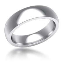 Plain Wedding Band Heavy Wide