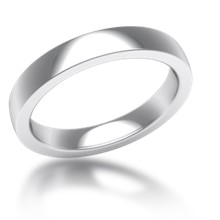 Plain Wedding Band Standard Narrow