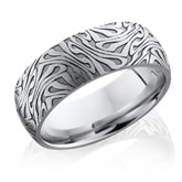 Tree Bark Wedding Band