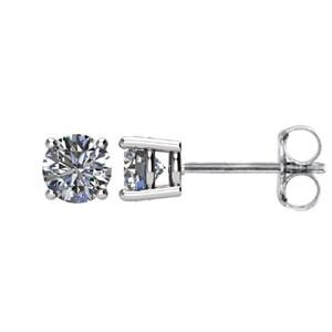 1 2 Ctw Diamond Earrings