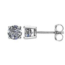 3/4 CTW Diamond Earrings