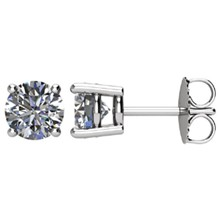 1.5 CTW Diamond Earrings