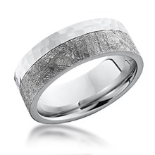 Meteorite Wedding Bands