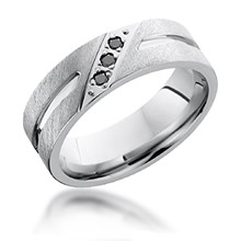 Diagonal Diamond Set Band