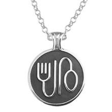 Corporate jewelry custom logo relief pendant mozeypictures Choice Image
