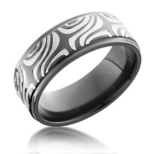 Mokume Pattern Band