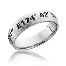 Hammered Coordinates Band