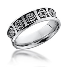 Celtic Knot Pattern Band