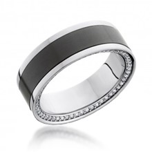 Diamond Eternity Platinum and Elysium Band