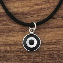 Black and White Eye Pendant