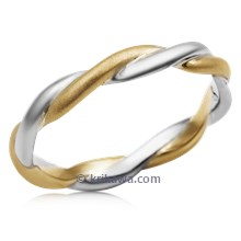 Tight Twist Wedding Band