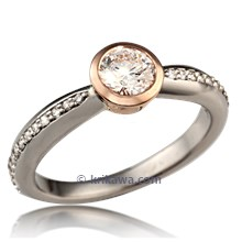 Brilliant Full Bezel Engagement Ring