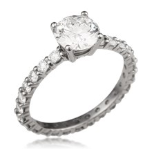 Simple Brilliance Engagement Ring