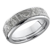 classic meteorite - Meteorite Wedding Rings