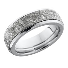 Clic Meteorite This Wedding Band