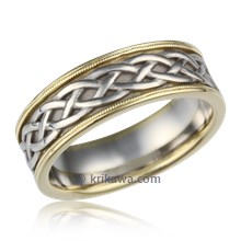 Vintage Celtic Knot  Band